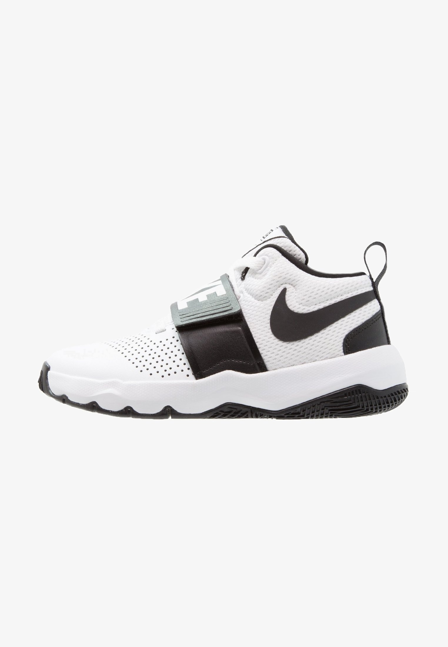 SCARPE NIKE 881941 100 TEAM HUSTLE D 8 GS WHITE//BLACK MODA JUNIOR BASKET